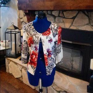 White House Black Market Sweater Cardigan